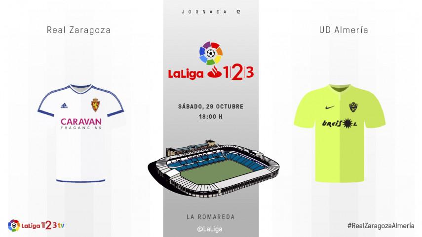 El Real Zaragoza de Raúl Agné se estrena en La Romareda