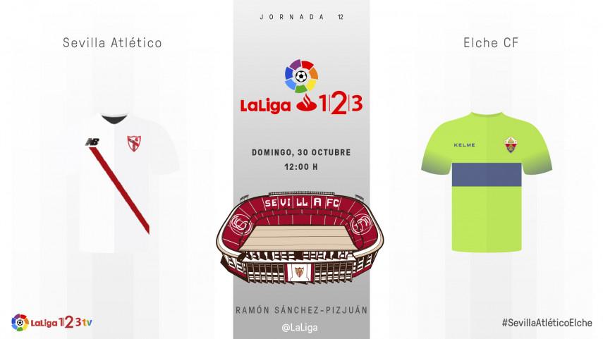 El Elche explora los límites del Sevilla Atlético