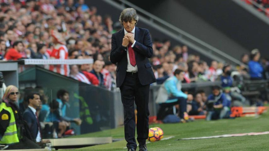 CA Osasuna move on from coach Enrique Martín