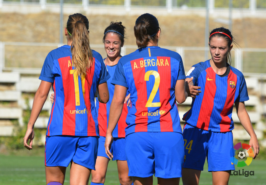 Match analysis barcelona women pull clear at the top of the liga iberdrola 2016 - Forlady barcelona ...