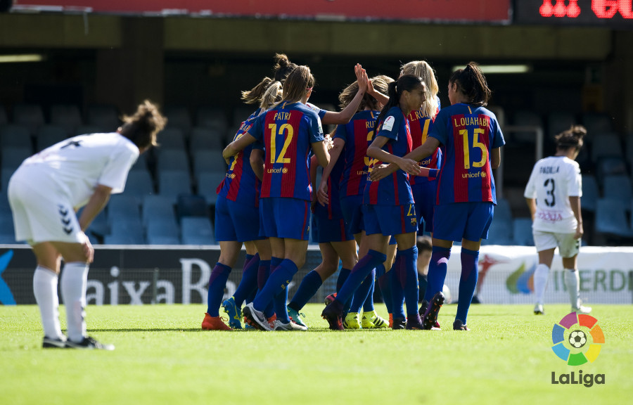 1abca1ba0 match analysis - Barcelona and Atletico Women keep marching on 2016