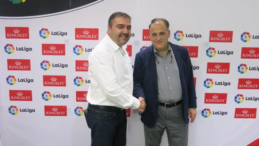LaLiga presenta su primer acuerdo de patrocinio en Sudáfrica