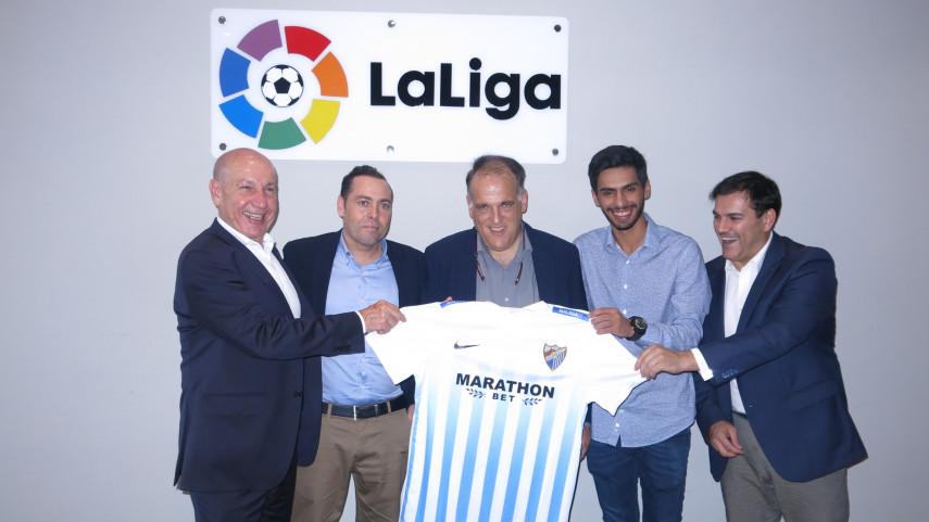 LaLiga acompaña al Málaga CF en su expansión internacional