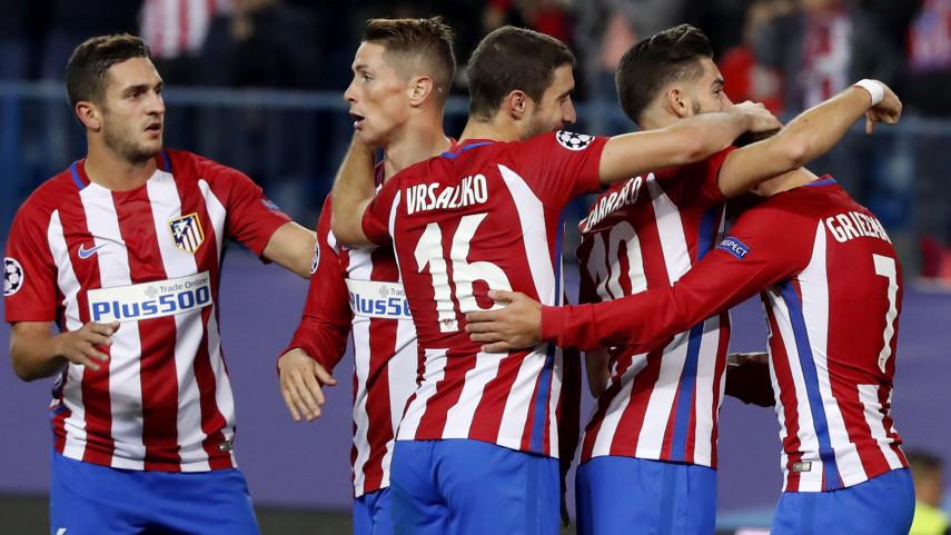 El Atlético asegura el pase a octavos de final de la Champions