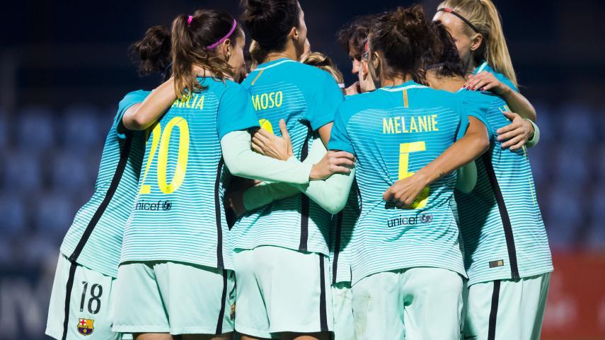 El FC Barcelona sella su pase a los cuartos de final de la UEFA Women's Champions League