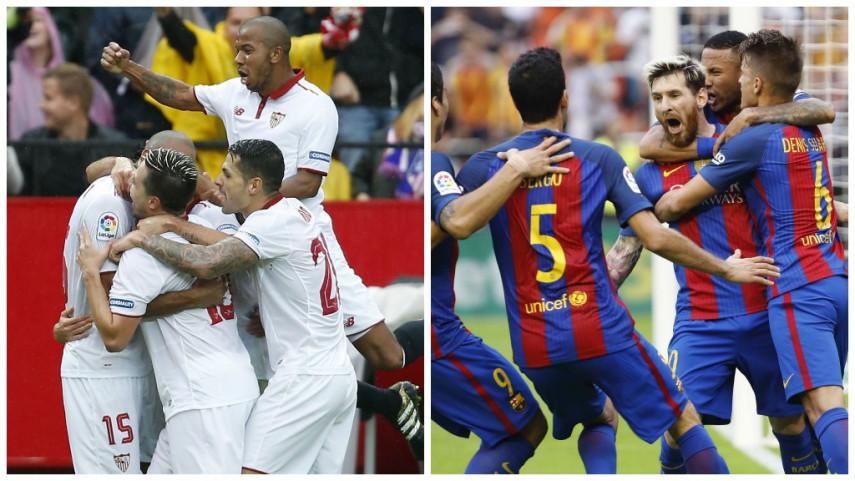Los seis partidazos de la última década entre Barcelona y Sevilla
