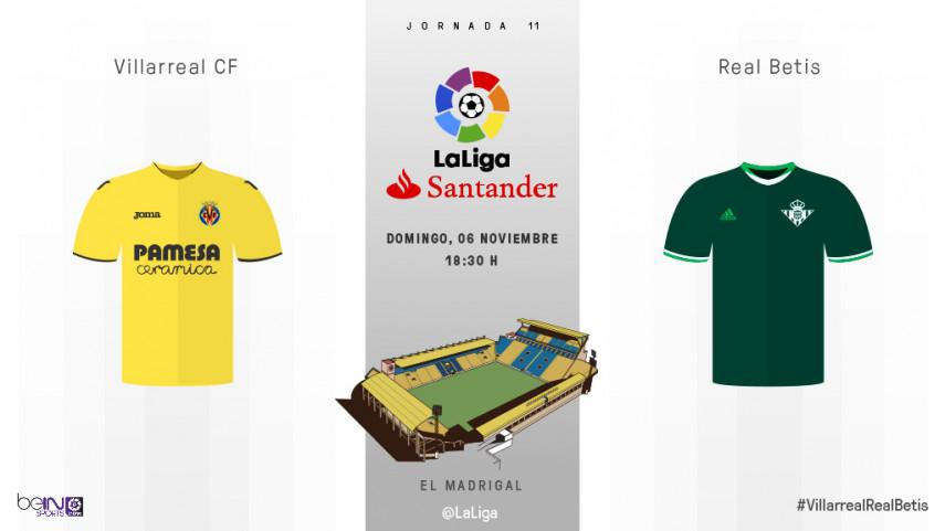 Villarreal y Betis, a recuperar el brillo