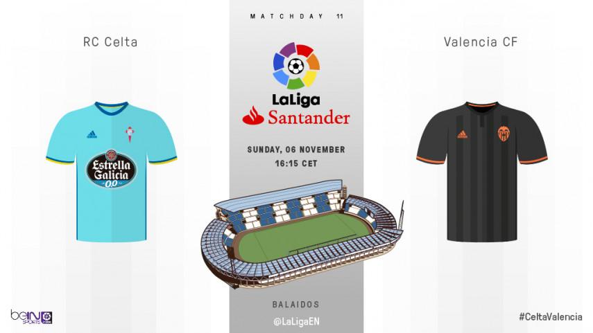 Iago Aspas mide la mejora del Valencia CF