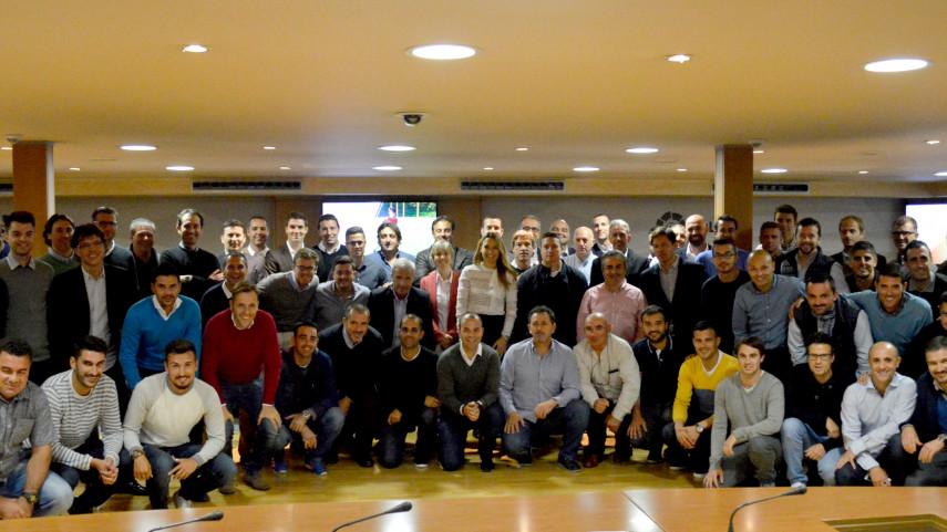 Éxito de participación en el II Encuentro de Canteras de LaLiga
