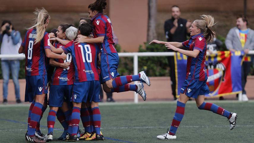 El Levante no pierde la estela del FC Barcelona y At. Madrid Femenino en la Liga Femenina Iberdrola