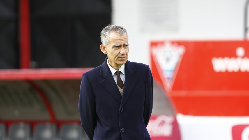 Carlos Terrazas deja de ser entrenador del Mirandés