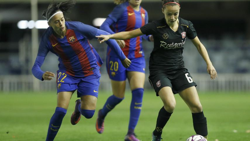 Jenni Hermoso acerca al FC Barcelona a los cuartos de final de la UEFA Women's Champions League