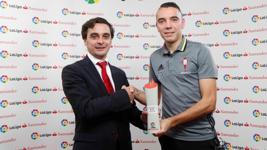 Iago Aspas, Mejor Jugador de LaLiga Santander en octubre