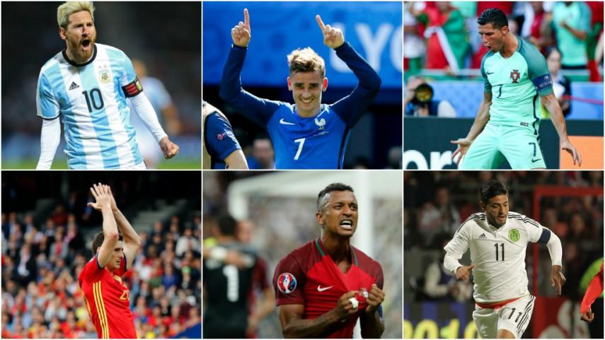 112 jugadores de LaLiga, convocados con sus selecciones absolutas