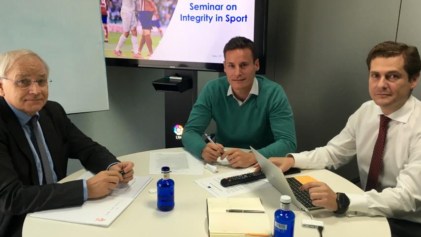LaLiga se reúne con el departamento de integridad de la Federación Holandesa de Fútbol