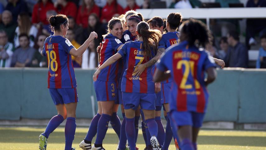 El FC Barcelona, a un paso de cuartos de la UEFA Women's Champions League