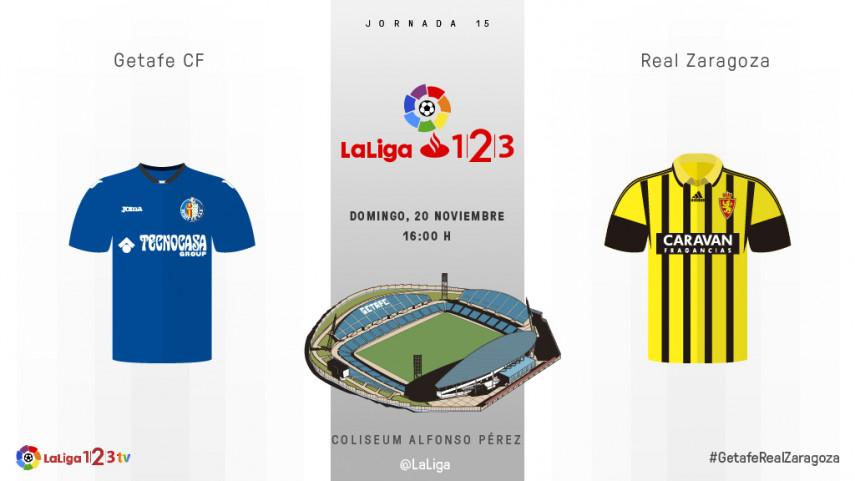 Getafe y Real Zaragoza quieren confirmar su mejora