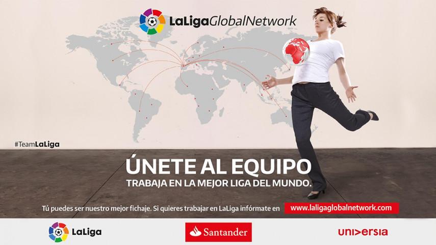 LaLiga Global Network llega a los cinco continentes y ya cuenta con 7.000 candidatos