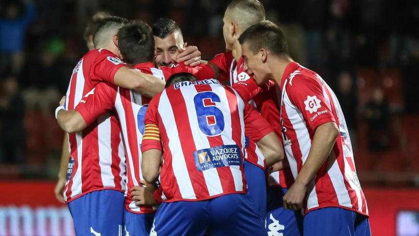 El Girona aprieta la zona alta de LaLiga 1|2|3