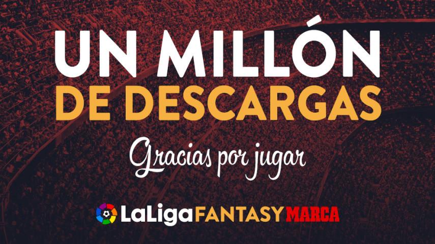 LaLiga Fantasy MARCA llega al millón de descargas