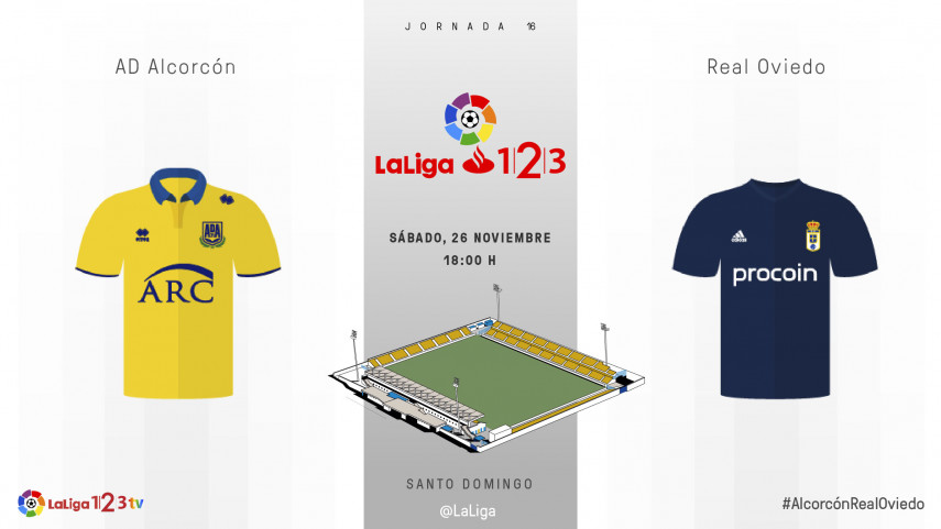 El Real Oviedo, ante un gran reto: marcar en Santo Domingo