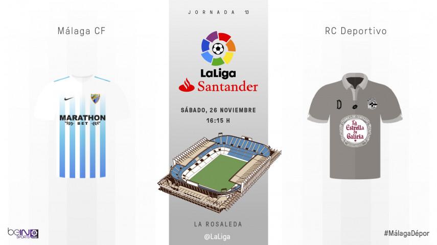 El Deportivo, sin margen de error en La Rosaleda