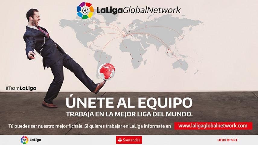 Aspirantes de 127 países superan la barrera de los 10.000 candidatos en LaLiga Global Network