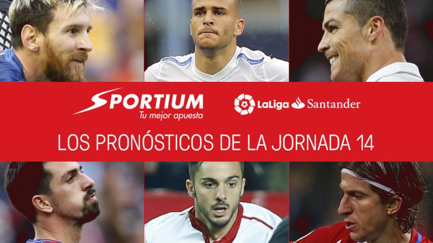 Las recomendaciones de Sportium para la jornada 14 de LaLiga Santander