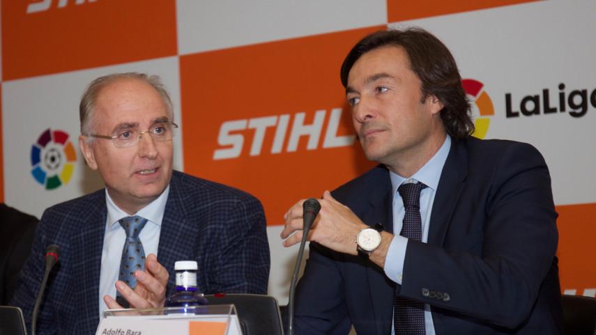 STIHL se presenta como nuevo patrocinador oficial de LaLiga