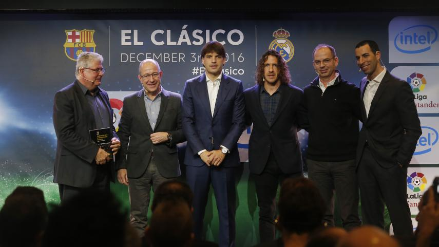 El Clasico as it's never been seen before thanks to Intel's 360° replay technology