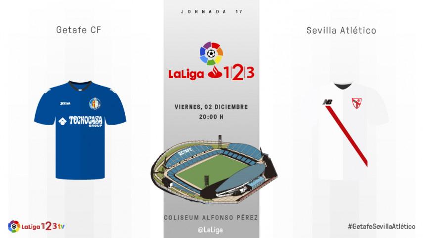 Getafe y Sevilla Atlético quieren seguir alimentando sus sueños