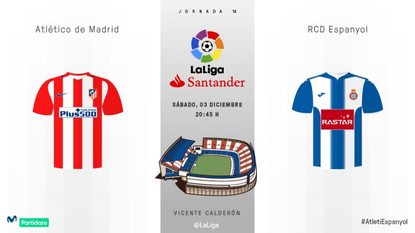 El Vicente Calderón mide el buen momento del Espanyol