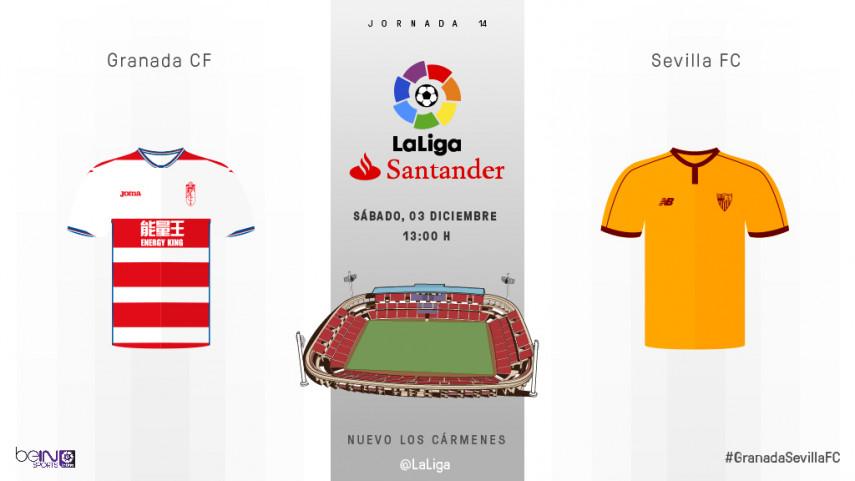 El Granada busca 'estrenarse' ante un Sevilla en auge