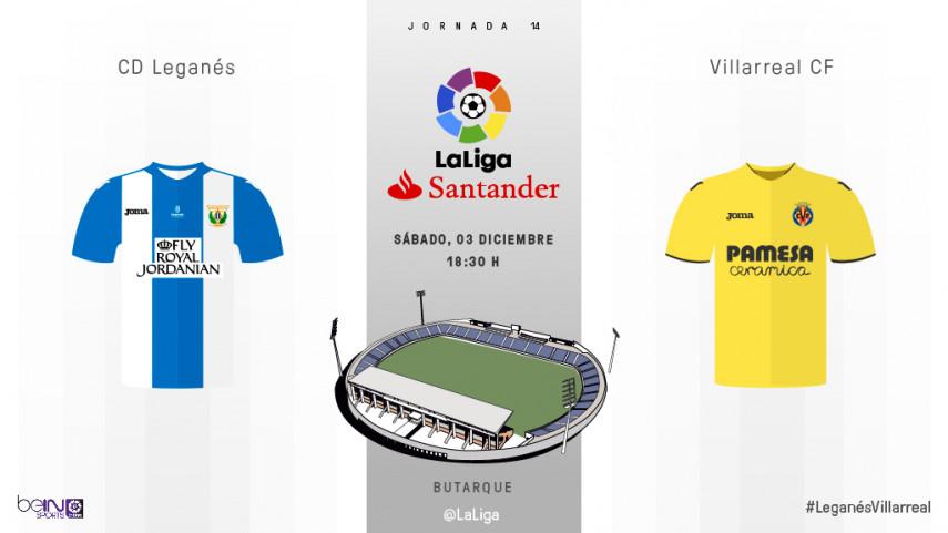 Leganés y Villarreal quieren redimirse en Butarque