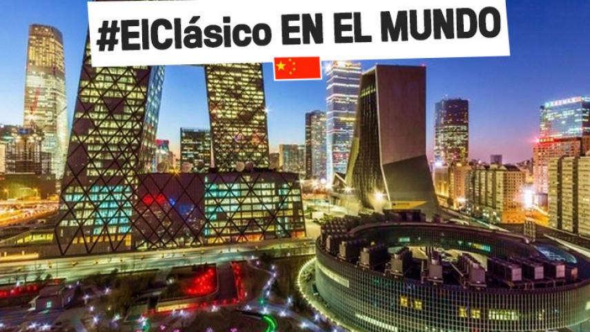 #ElClásico, una fiesta para los aficionados de LaLiga en China