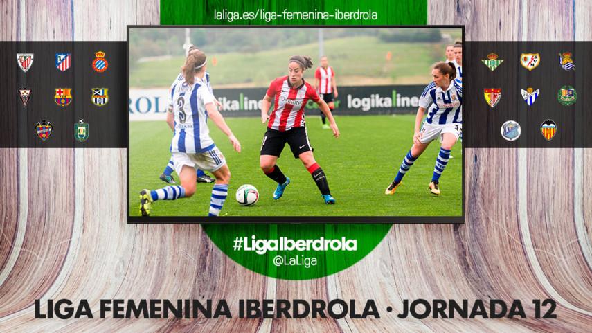 El derbi vasco y la lucha por la segunda plaza protagonizan la jornada 12 de la Liga Femenina Iberdrola