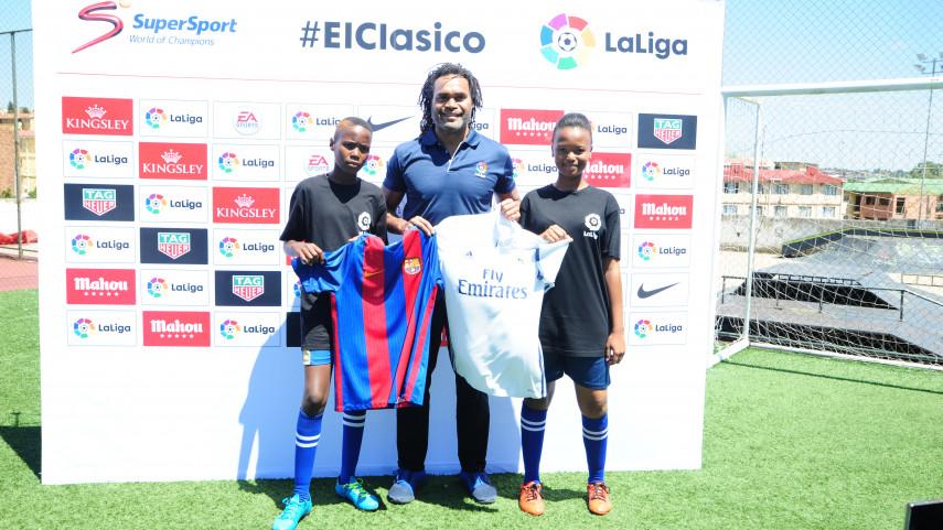 LaLiga se centra en elevar la comunidad de fútbol en Sudáfrica