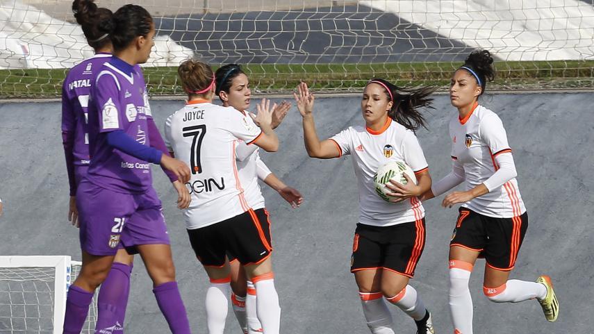 Mari Paz entra en la lista de las máximas goleadoras de la Liga Femenina Iberdrola