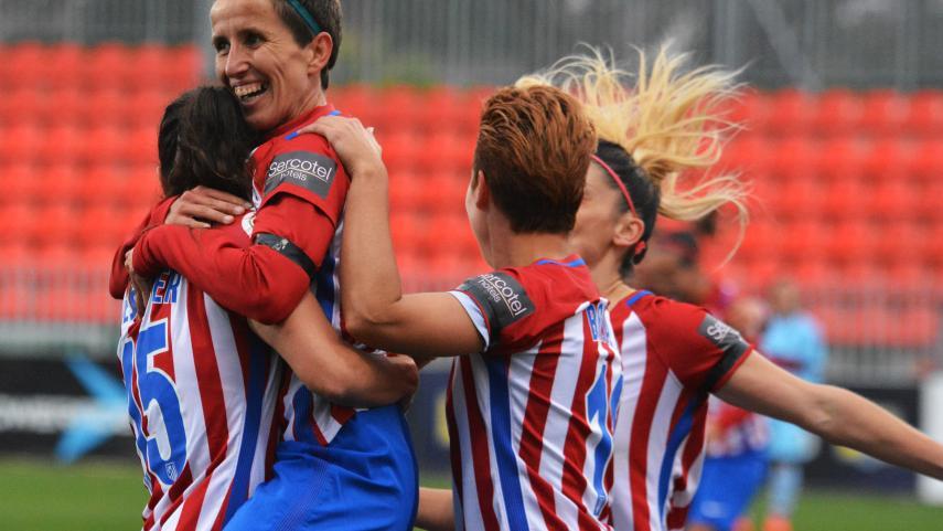 El At. Madrid Femenino vence al Levante y sigue la estela del FC Barcelona en la Liga Femenina Iberdrola
