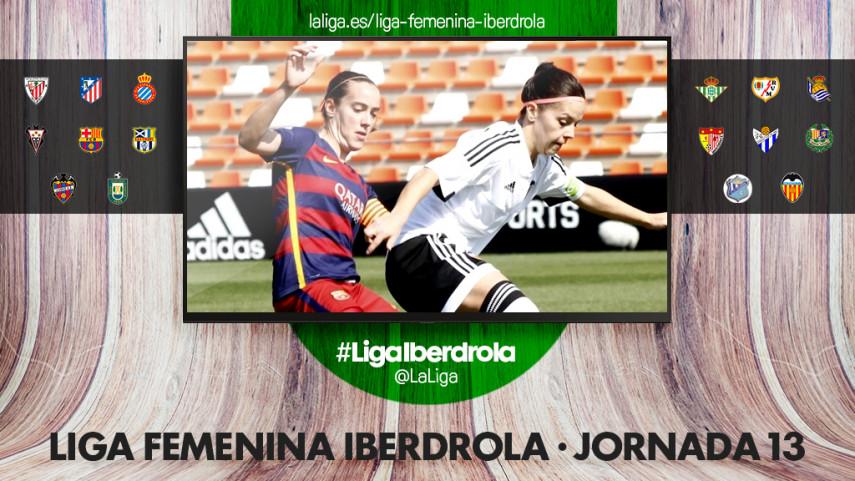 El FC Barcelona - VCF Femenino, protagonista de la Liga Femenina Iberdrola