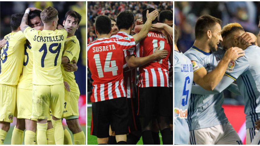 Celta y Villarreal se juegan la clasificación en la UEFA Europa League