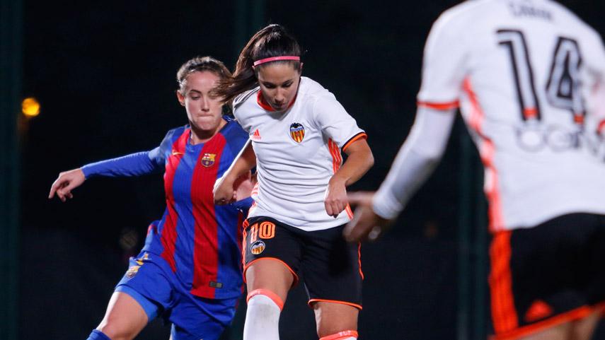 La tabla de las máximas goleadoras de la Liga Femenina Iberdrola se aprieta
