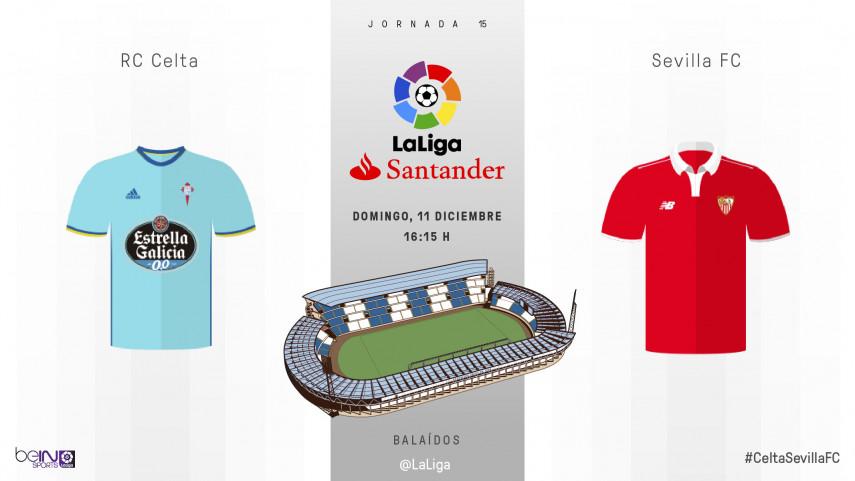 Balaídos y Aspas examinan al Sevilla FC