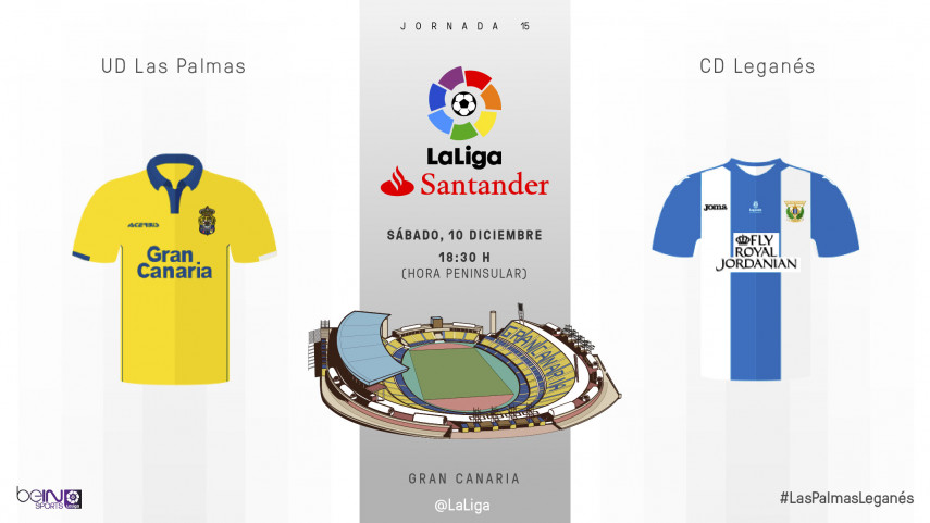 El Leganés amenaza el fortín del Estadio Gran Canaria