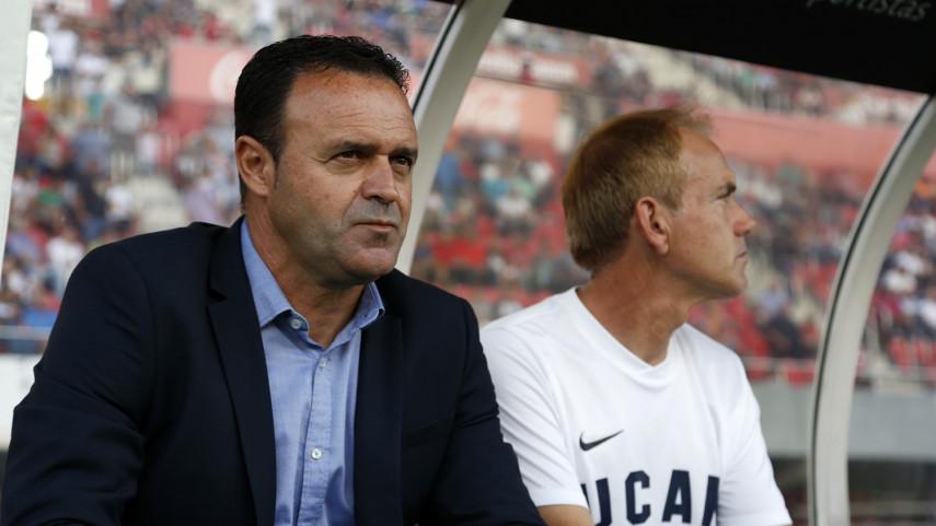 José María Salmerón deja de ser entrenador del UCAM Murcia