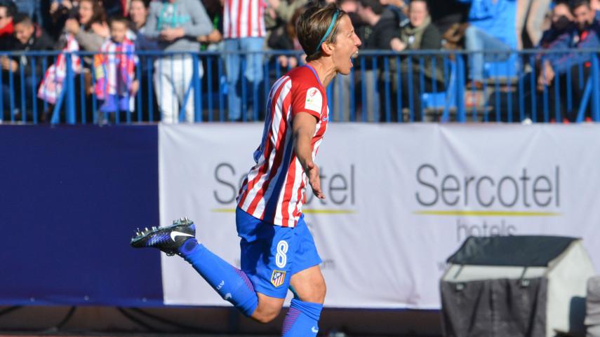 Sonia Bermúdez termina el año como máxima goleadora de la Liga Femenina Iberdrola