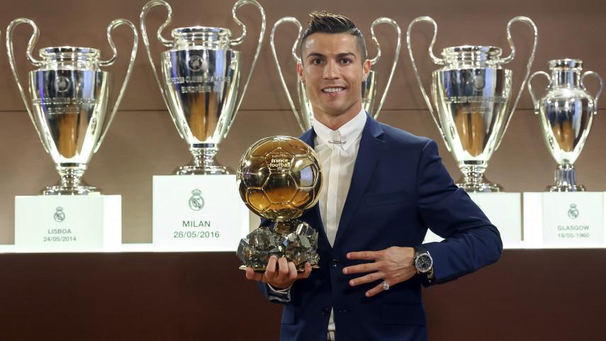 Cristiano Ronaldo conquista su cuarto Ballon d'Or