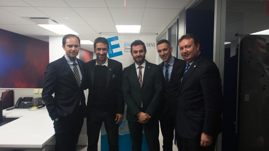 El FC Barcelona, LaLiga, la NBA y la MLS presentan sus estrategias de negocio y las comparten con los exalumnos de ESADE en Nueva York