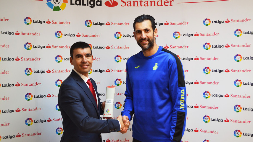 Diego Lopez named LaLiga Santander Player of the Month for November