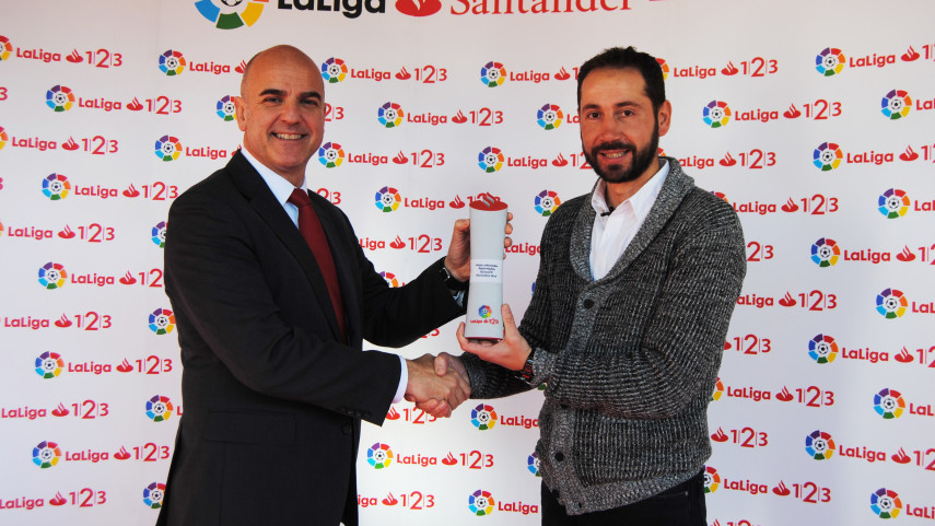 Pablo Machin named LaLiga 1l2l3 Manager of the Month for November